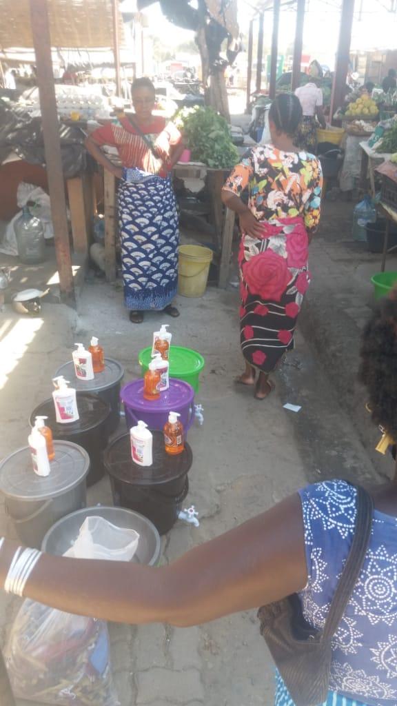 Hygiene für Kazungula Markt